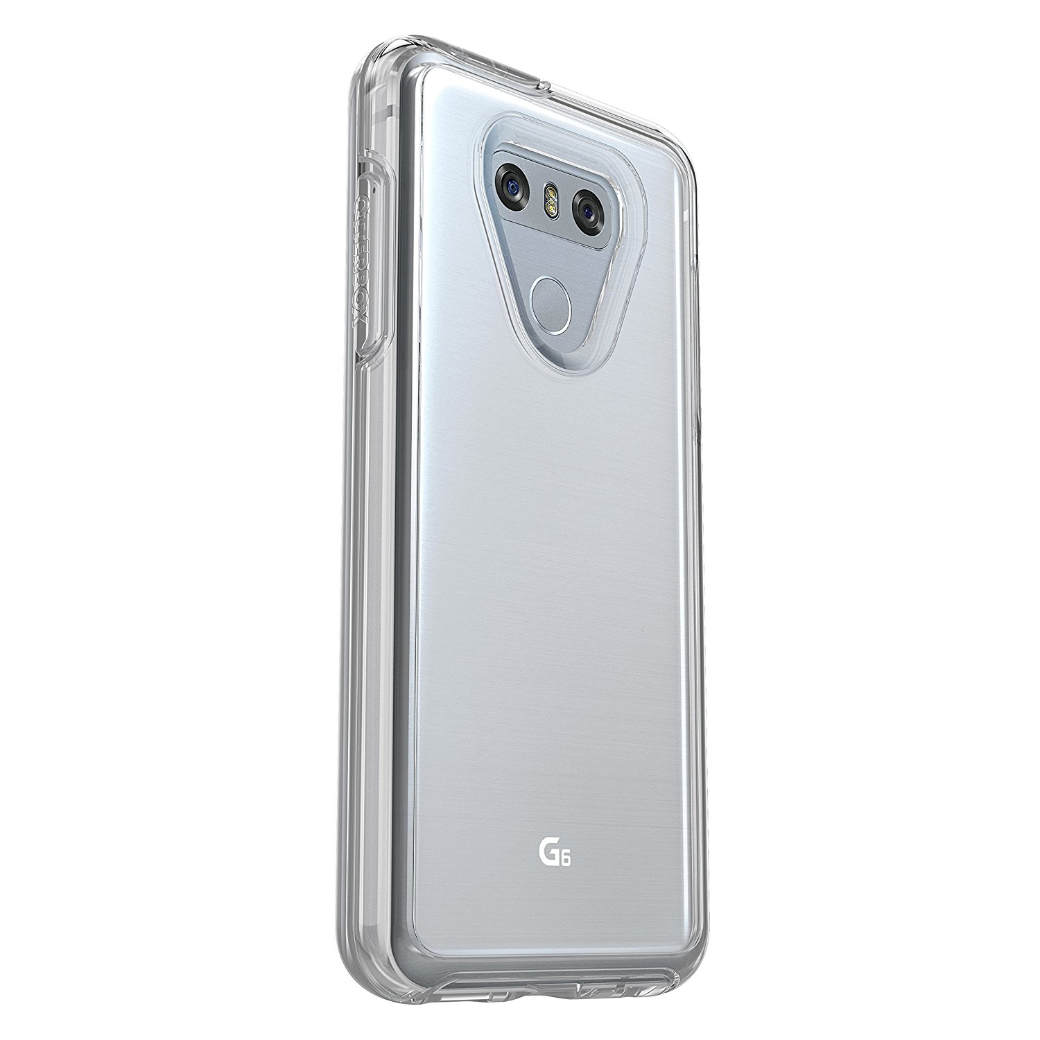 more photos 62a99 26e76 Details about OtterBox Symmetry Series Protective Case For LG G6 - Clear