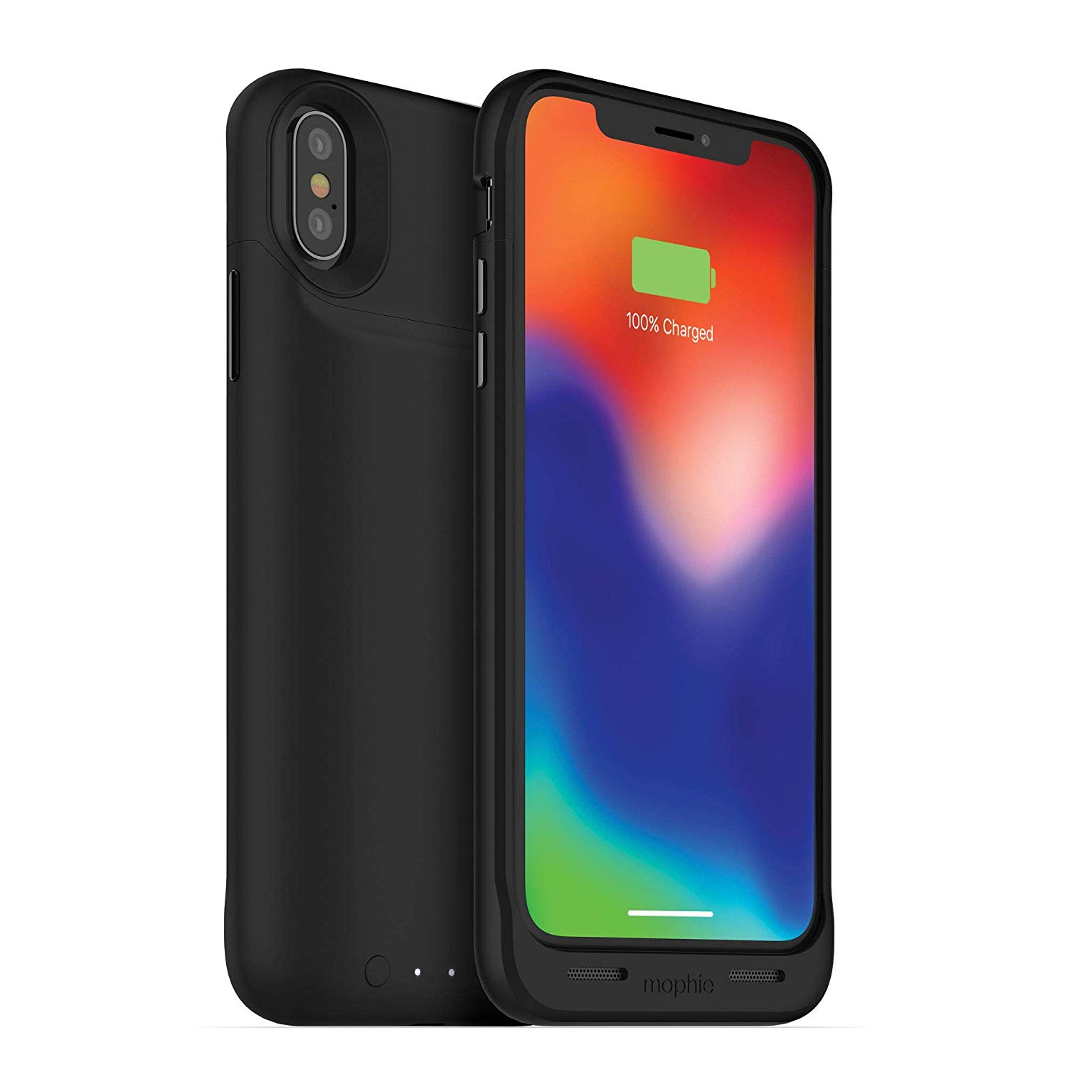 Mophie Juice Pack Air 1 720mah Battery Charging Case Qi Wireless Iphone X Black Ebay I love this case.great for back up.i was in the market for an external battery that would keep up with my phone with all i do, love the fact that i wont have to worry when my phone battery is low, only. ebay