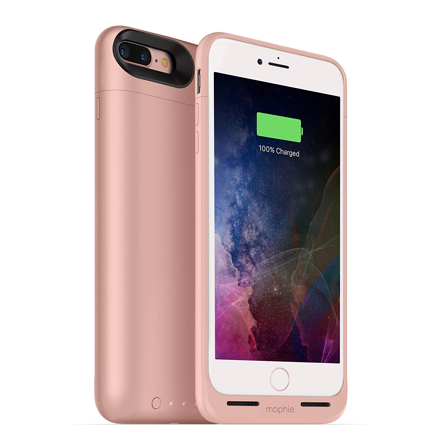 77065cecc95 Details about mophie Juice Pack Air Battery Charging Case for iPhone 7 PLUS,  8 PLUS Rose Gold