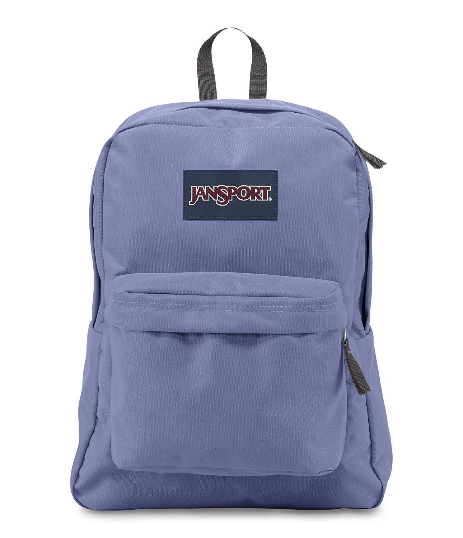 Jansport Superbreak bleached denim backpack # T5010GX