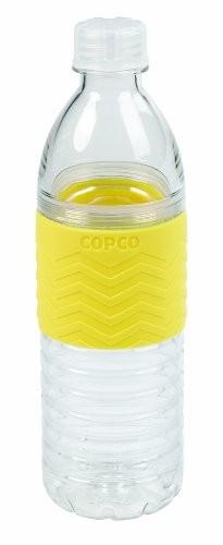 Pink Orange Copco Hydra Water Bottle BPA Free Plastic Reusable 16.9 Oz 2 Pack