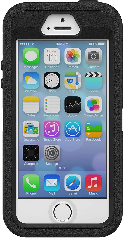 OtterBox Defender Rugged Case Only iPhone SE (1st Gen) 5S ...